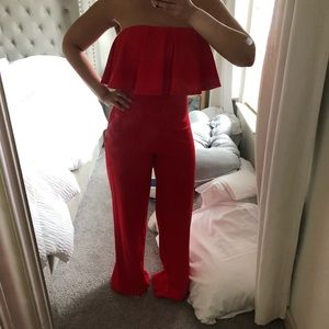 Other - Strapless Jumpsuit
